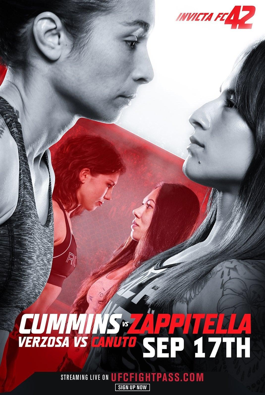 Invicta FC 42: Cummins vs. Zappitella