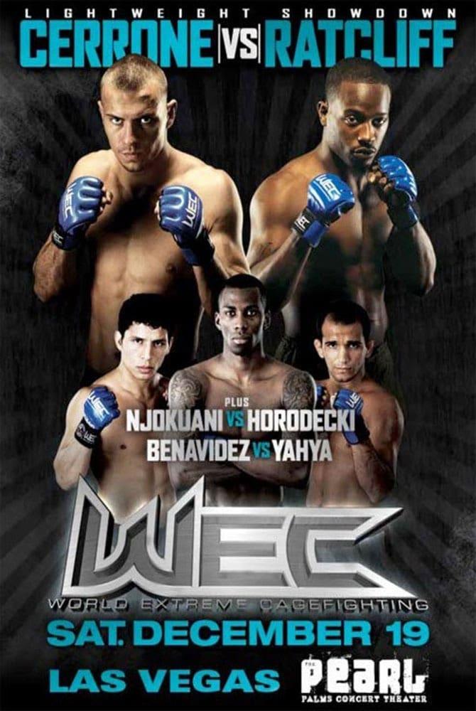 WEC 45: Cerrone vs. Ratcliff