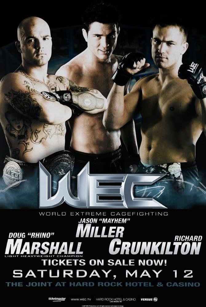 WEC 27: Marshall vs. McElfresh
