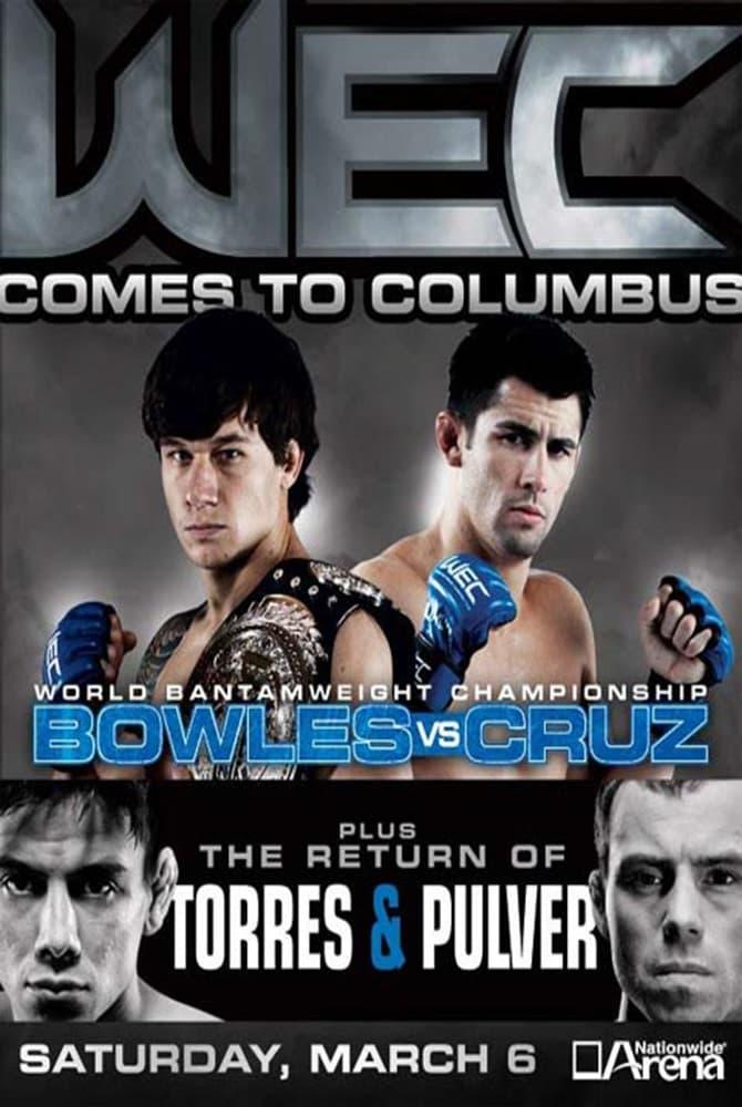 WEC 47: Bowles vs. Cruz