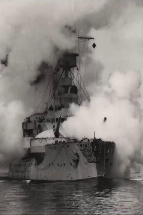Battleship Odin Firing All Her Guns