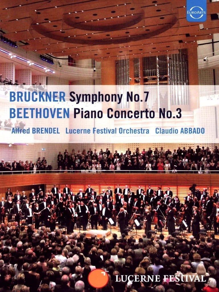 Claudio Abbado und Alfred Brendel - Beethovens Klavierkonzert Nr. 3 und Bruckners Sinfonie Nr. 7