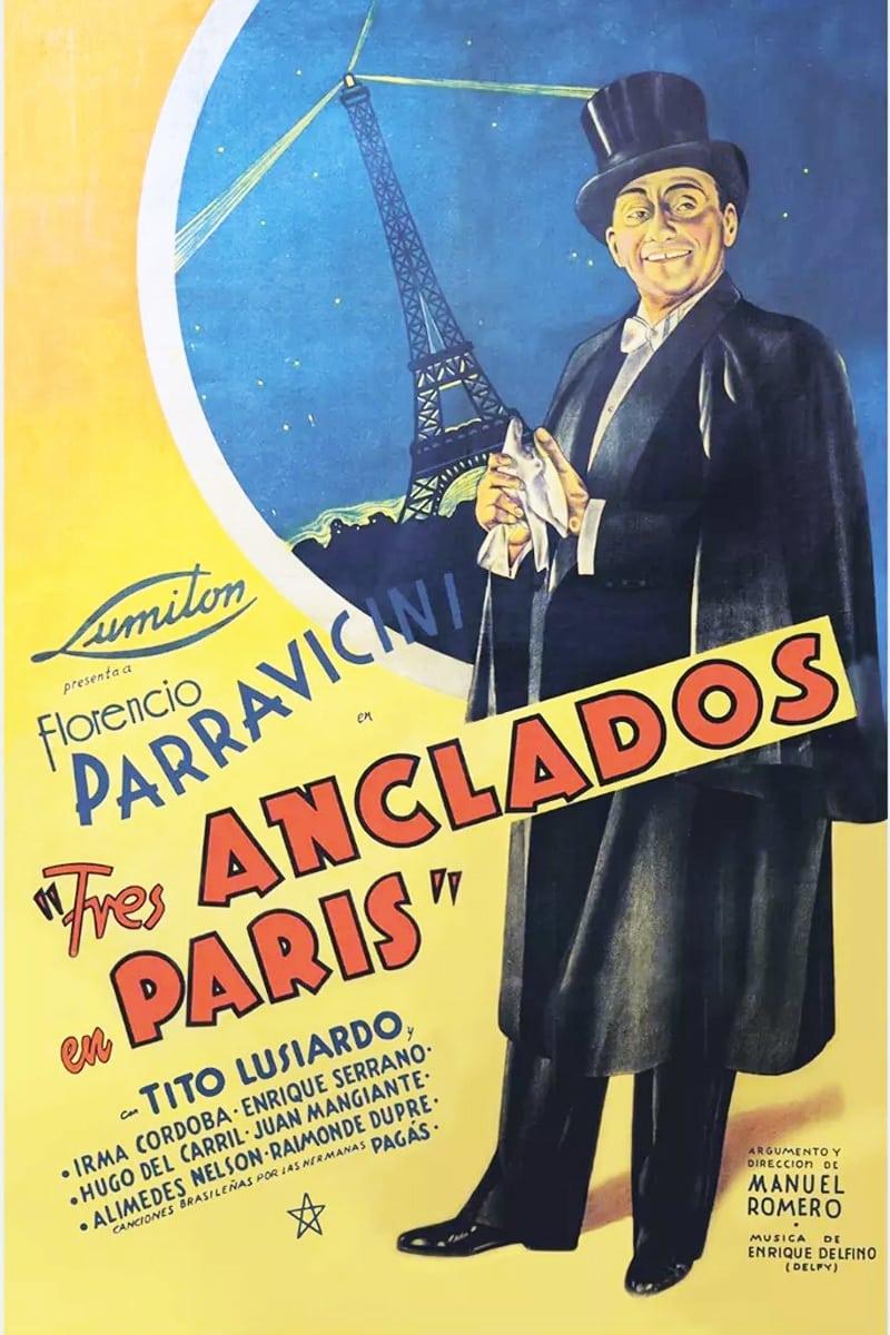 Tres anclados en París