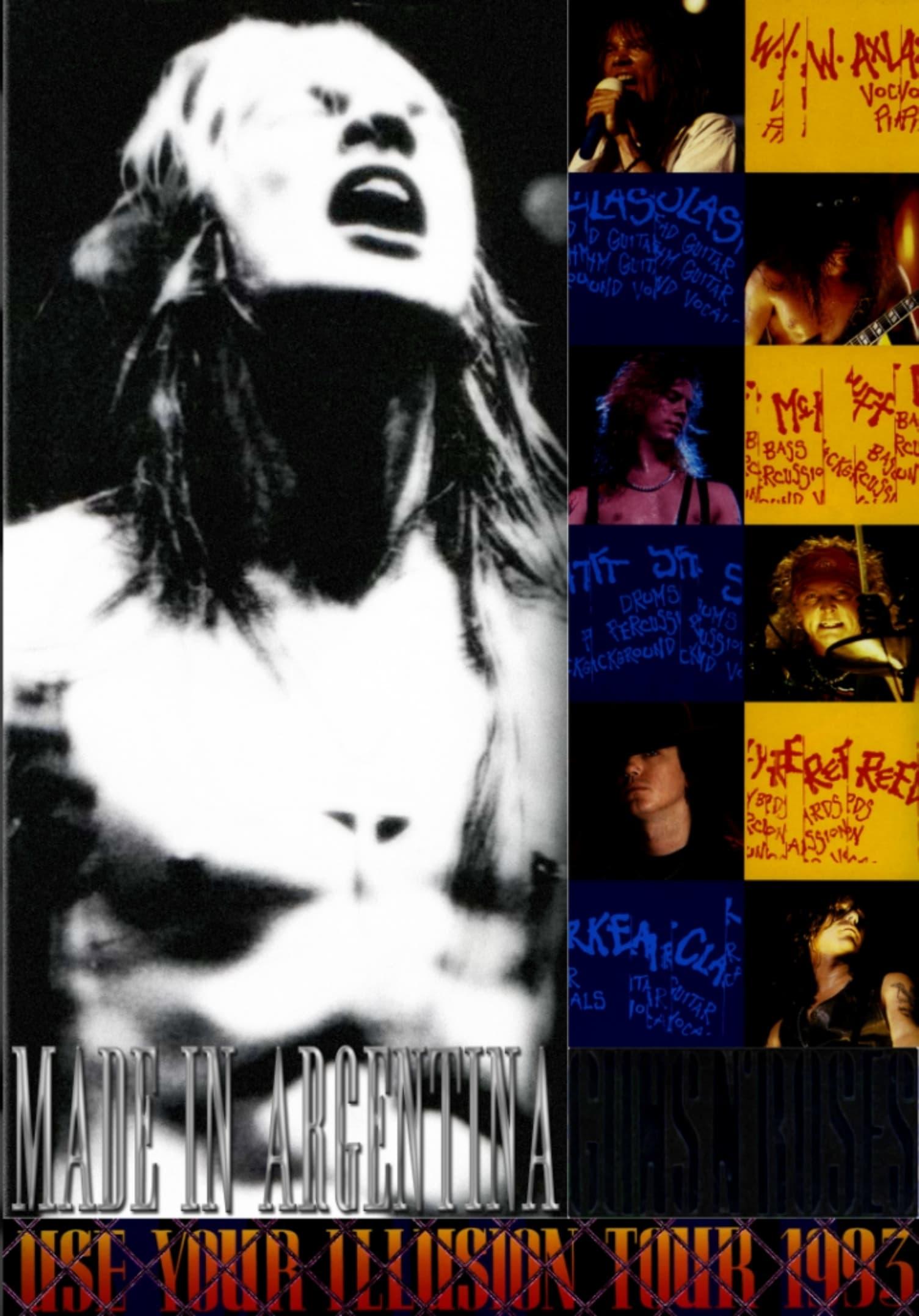 Guns N' Roses Made In Argentina