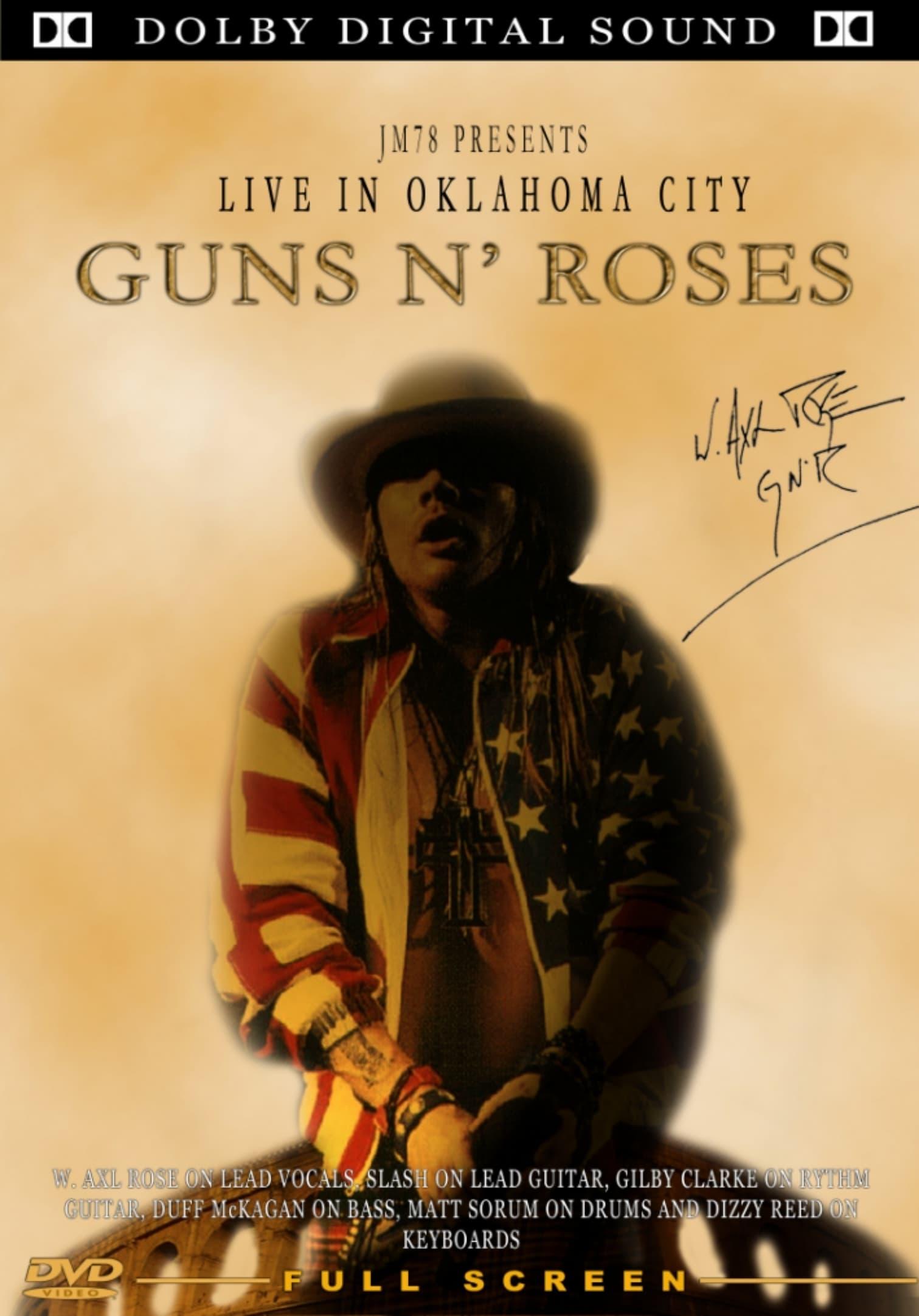 Guns N' Roses Live In Oklahoma City