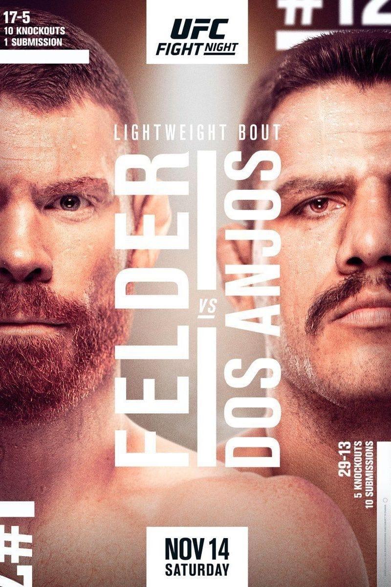 UFC Fight Night 182: Felder vs. Dos Anjos
