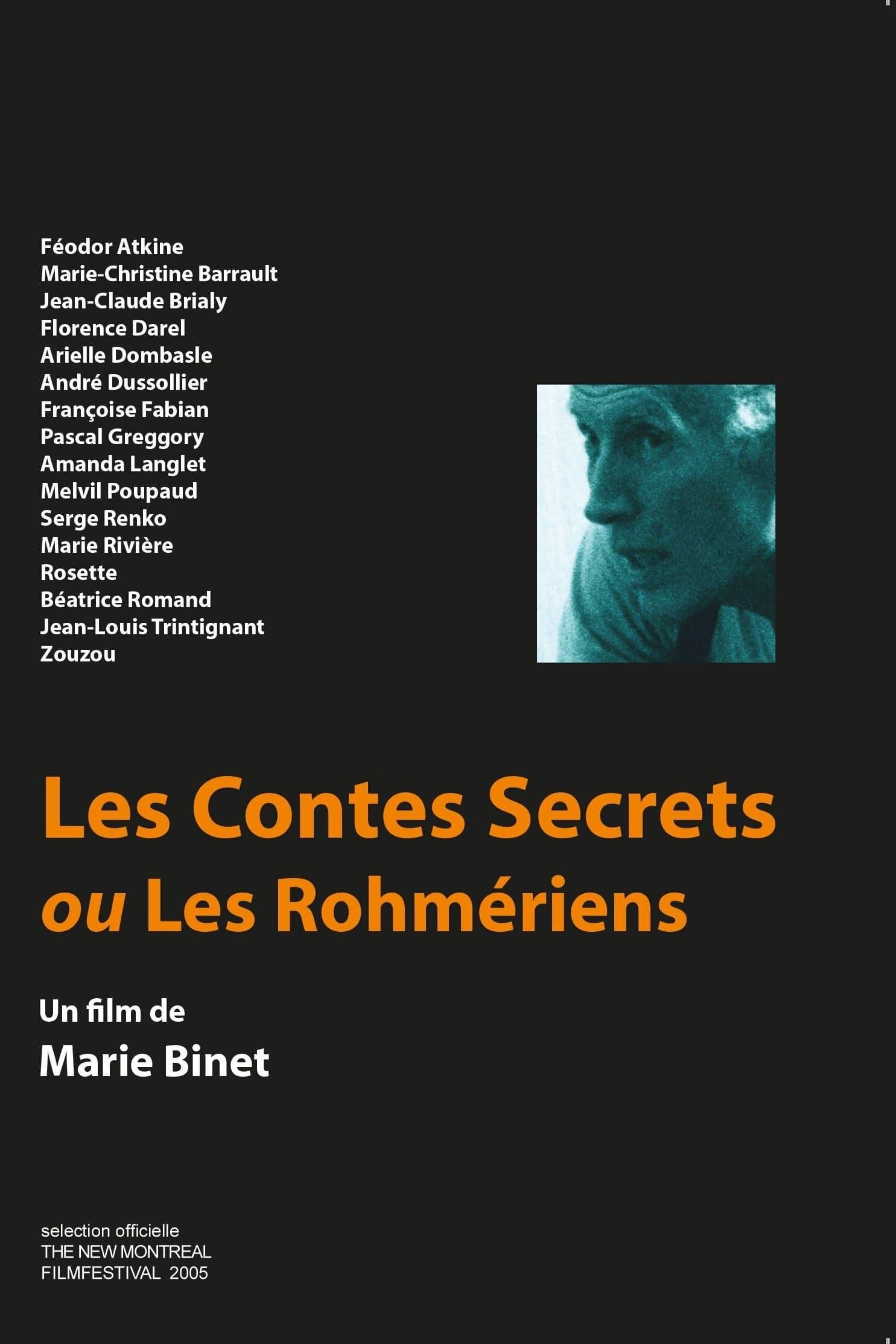 Les contes secrets ou les Rohmériens