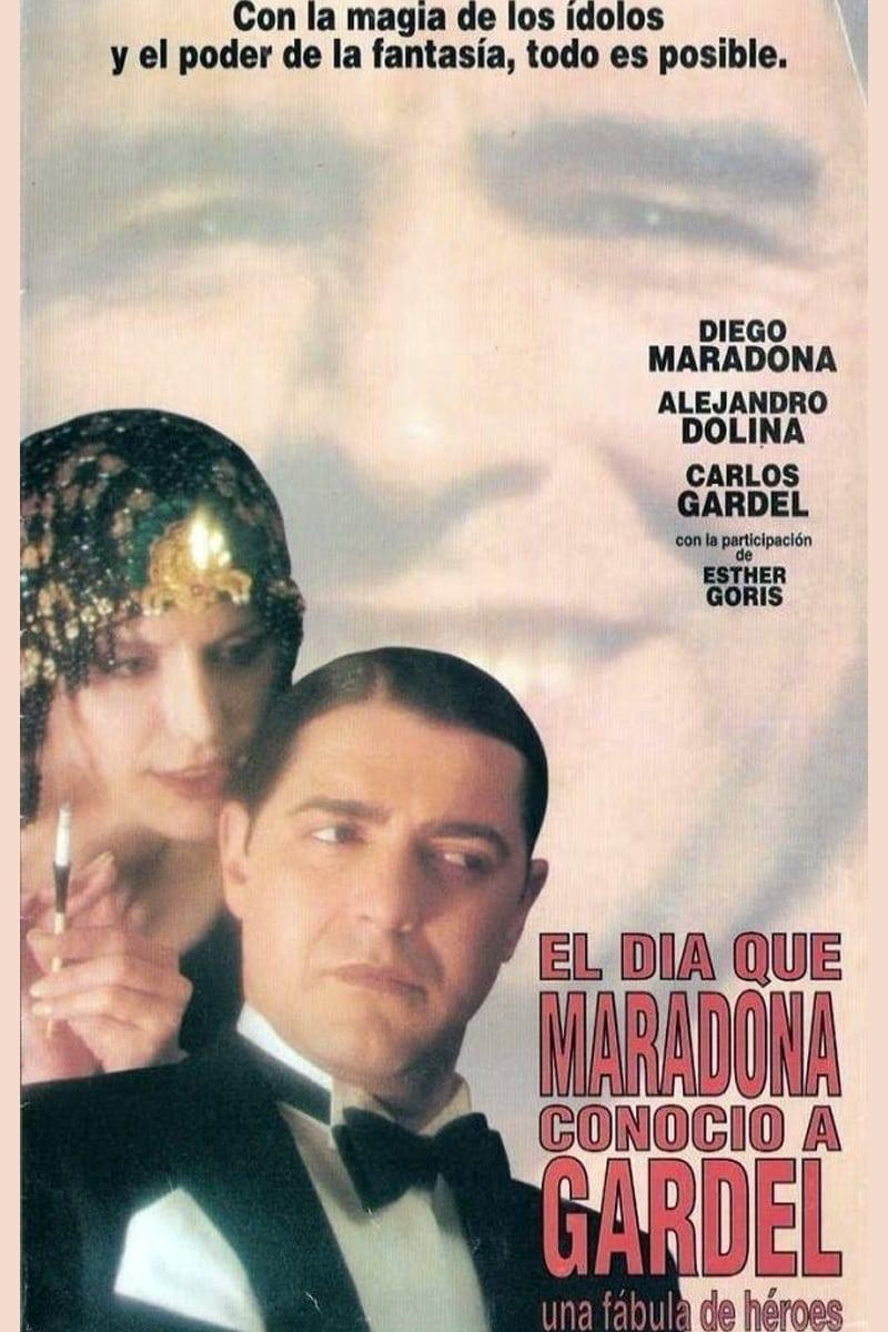 El día que Maradona conoció a Gardel