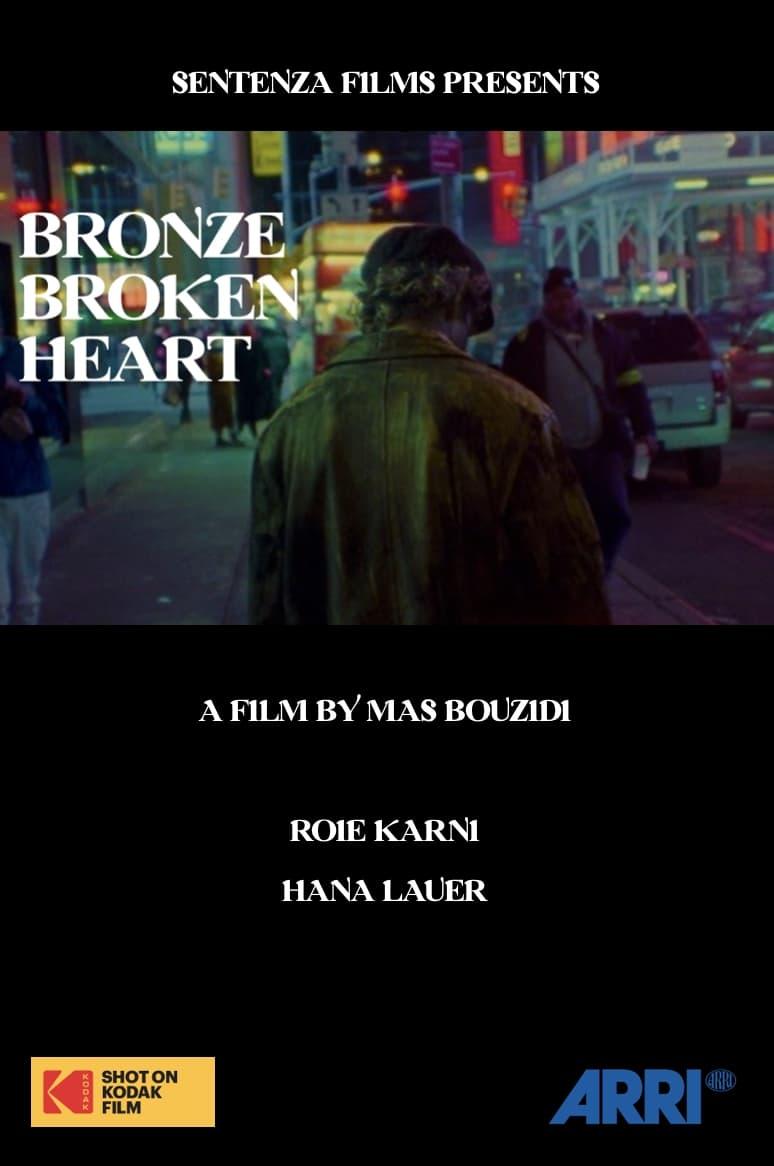 Bronze Broken Heart
