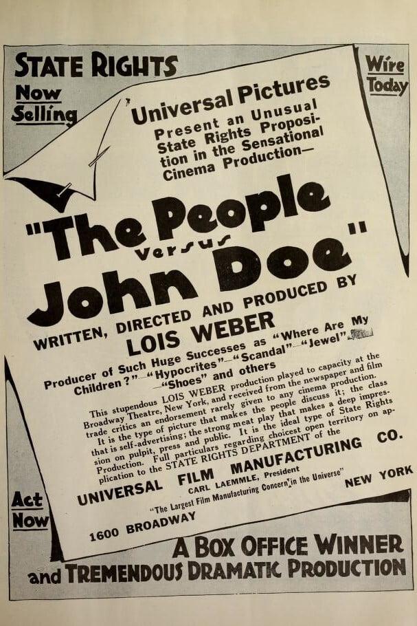 The People vs. John Doe
