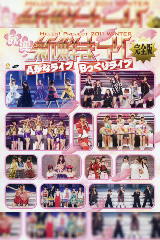 Hello! Project 2011 Winter ~Kangei Shinsen Matsuri~ B kkuri Live