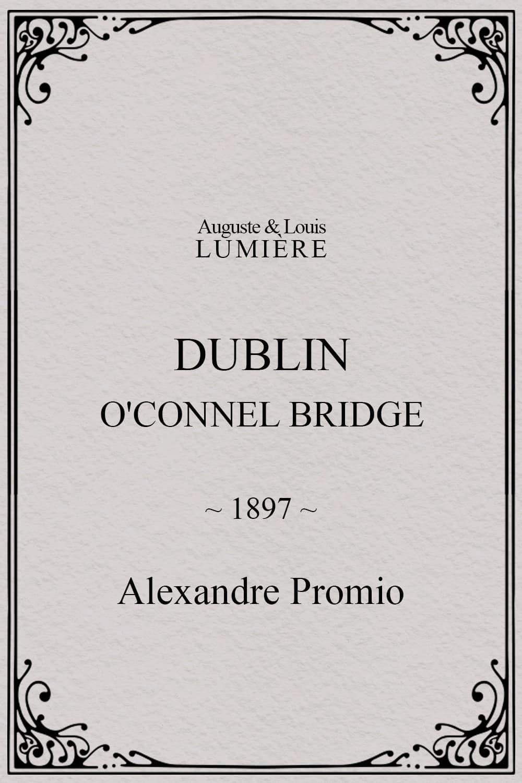 Dublin, O'Connel Bridge