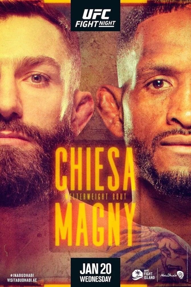 UFC on ESPN 20: Chiesa vs. Magny