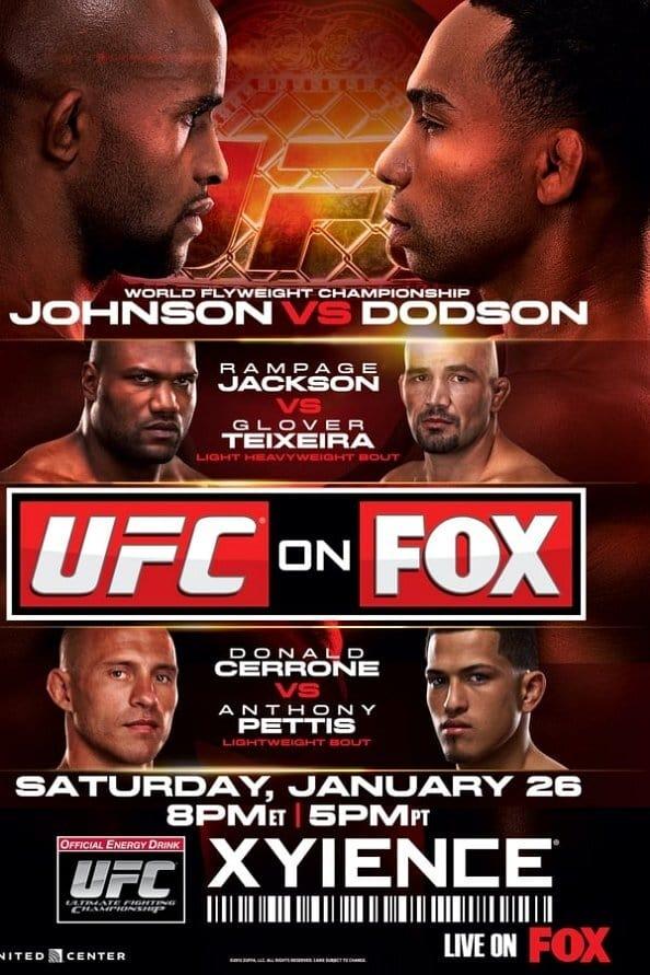 UFC on Fox 6: Johnson vs. Dodson