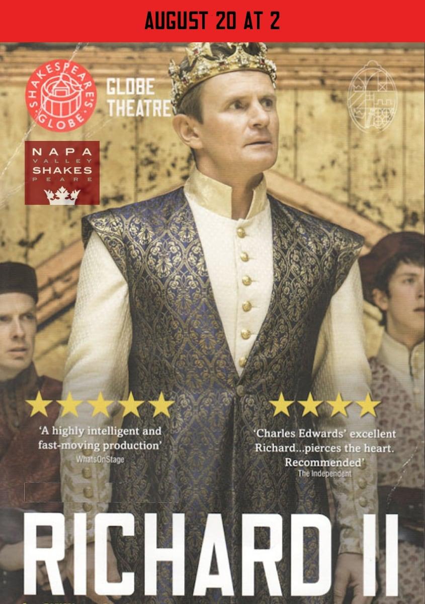 Richard II: Shakespeare's Globe Theatre