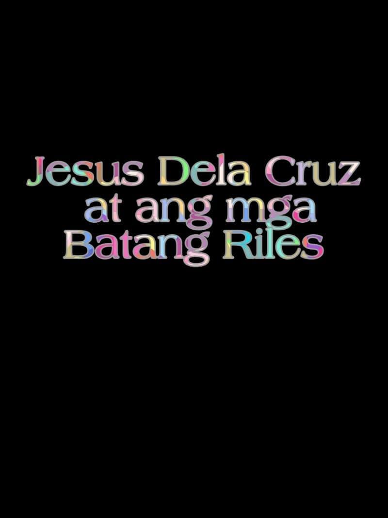 Jesus Dela Cruz at ang mga Batang Riles
