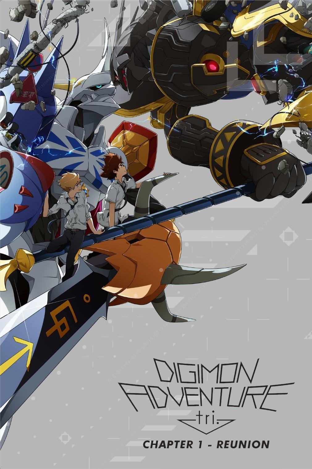 Digimon Adventure Tri. - Capítulo 1: Reunião