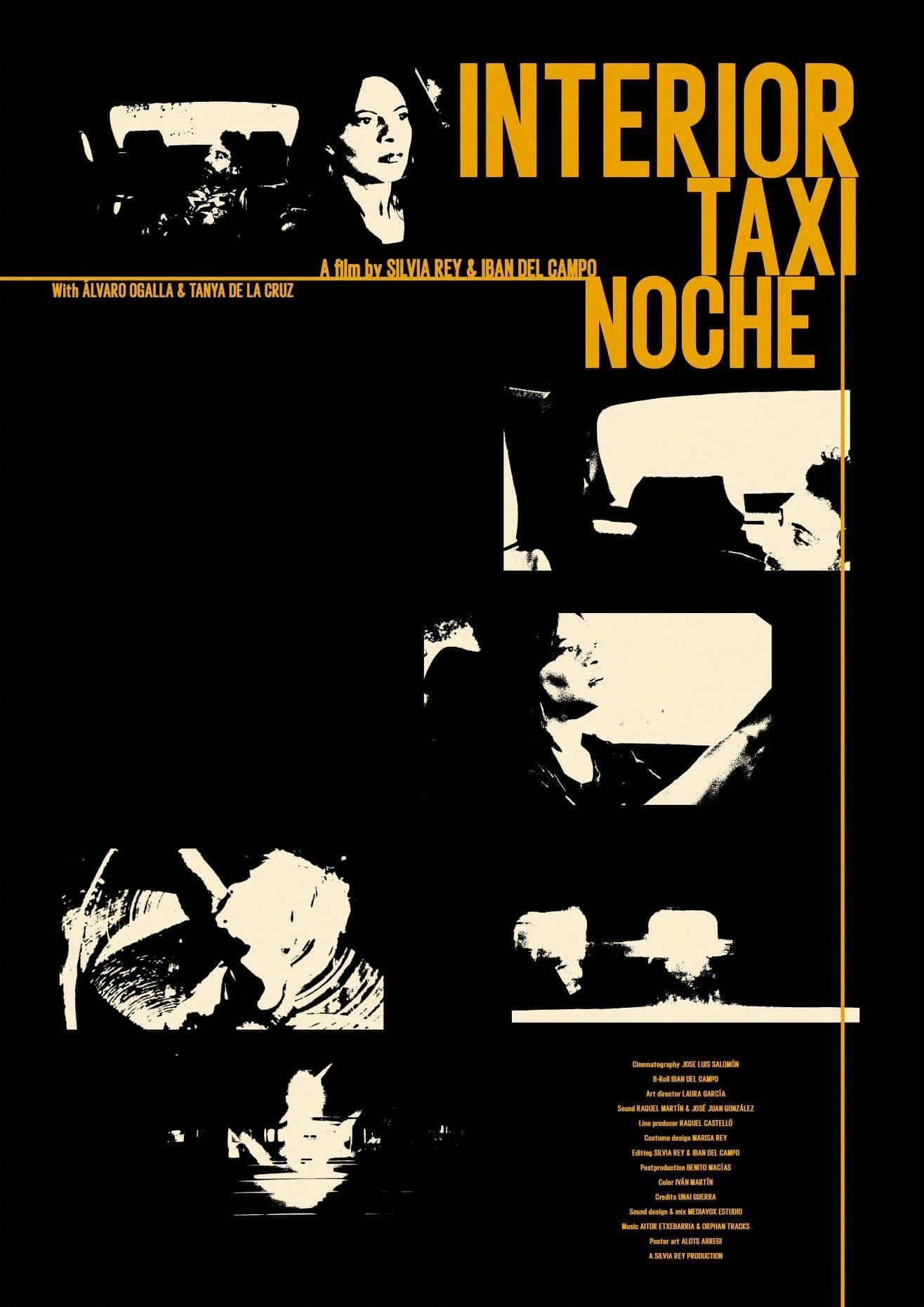 Interior Taxi Night