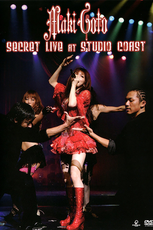 Goto Maki SECRET LIVE at STUDIO COAST