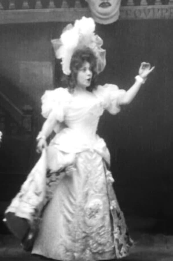 La poupée. Acte II Scène XI Chantée par Mlle Mariette Sully et Mm. Fugère et Soums