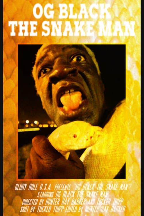 OG Black the Snake Man