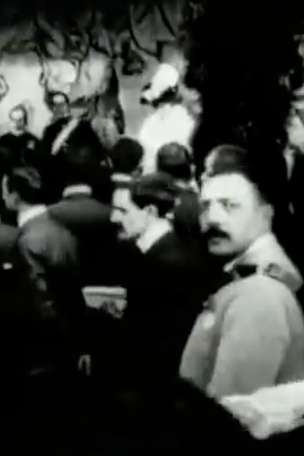 Réception de sa majesté Alphonse XIII à Barcelone