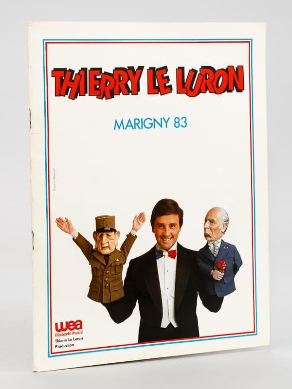 Thierry Le Luron à Marigny 1983