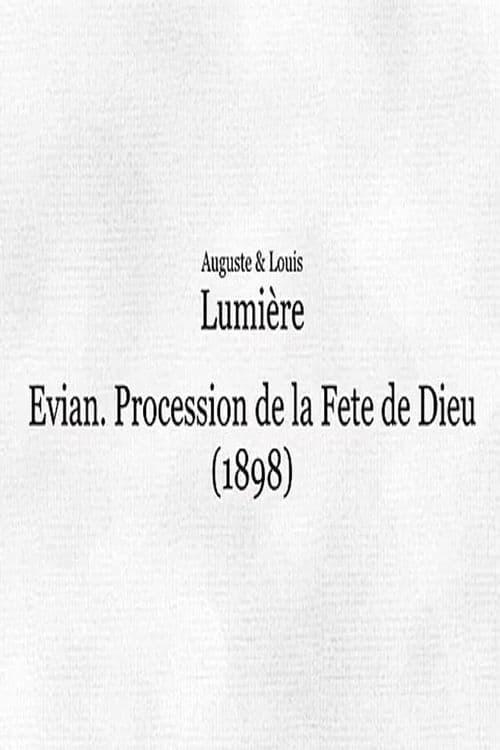 Evian : procession de la Fête-Dieu IV