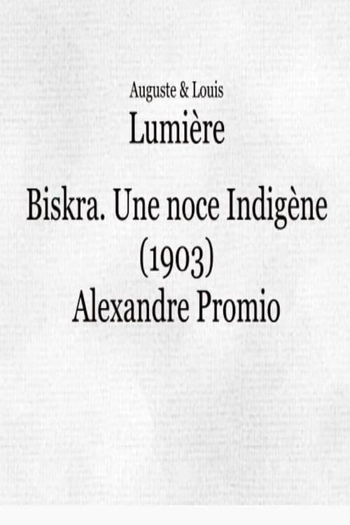 Biskra : une noce indigène