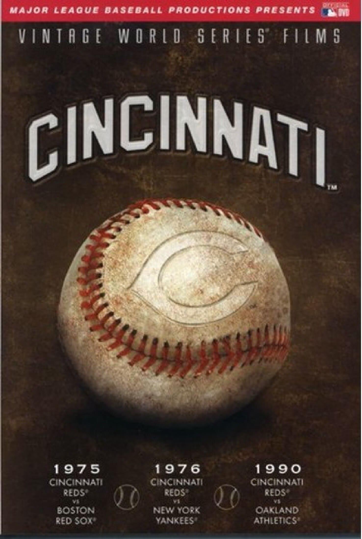 MLB Vintage World Series Films - Cincinnati Reds (1975, 1976, 1990)