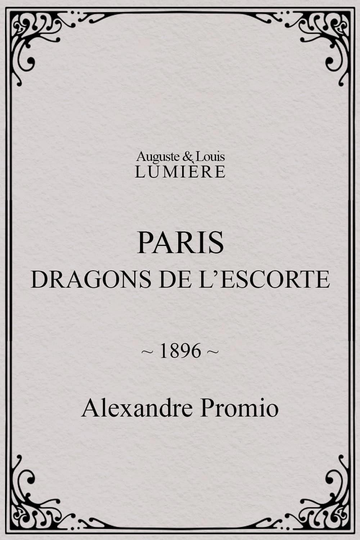 Paris : dragons de l'escorte