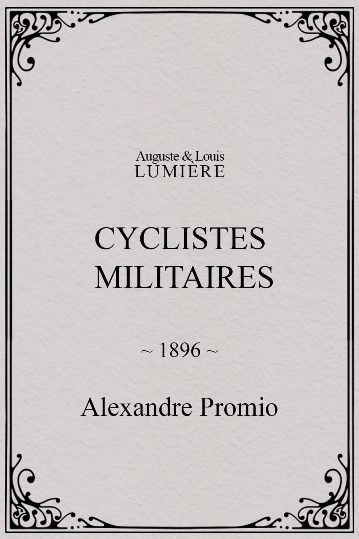 Cyclistes militaires