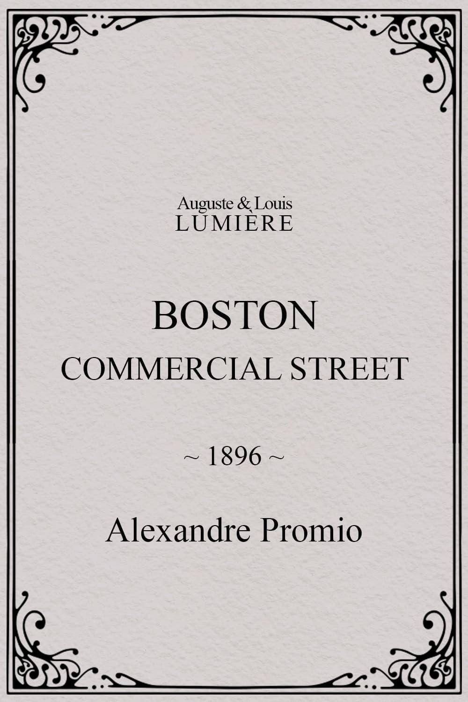 Boston, Commercial Street