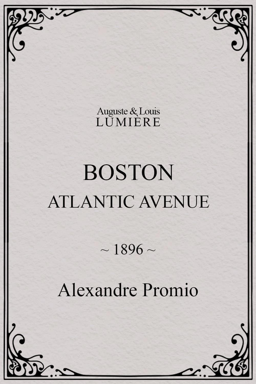 Boston, Atlantic avenue