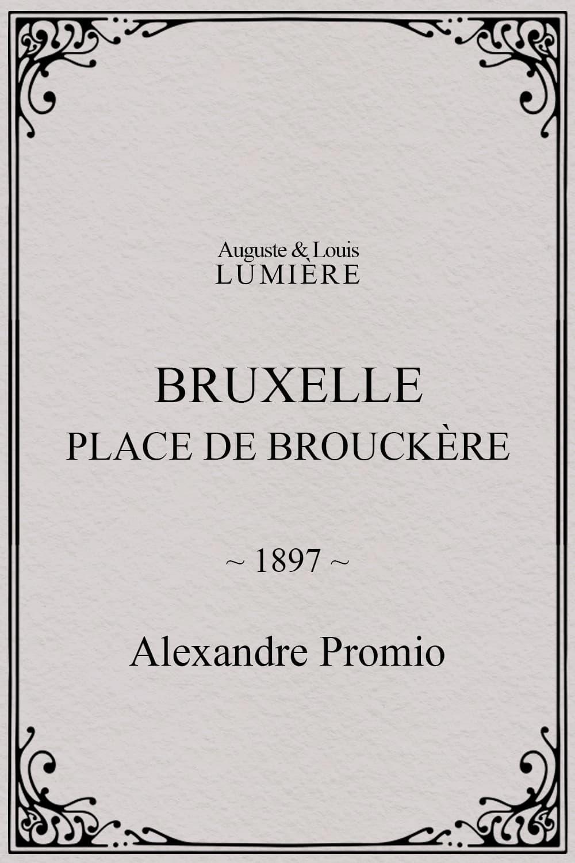 Bruxelles, Place de Brouckère