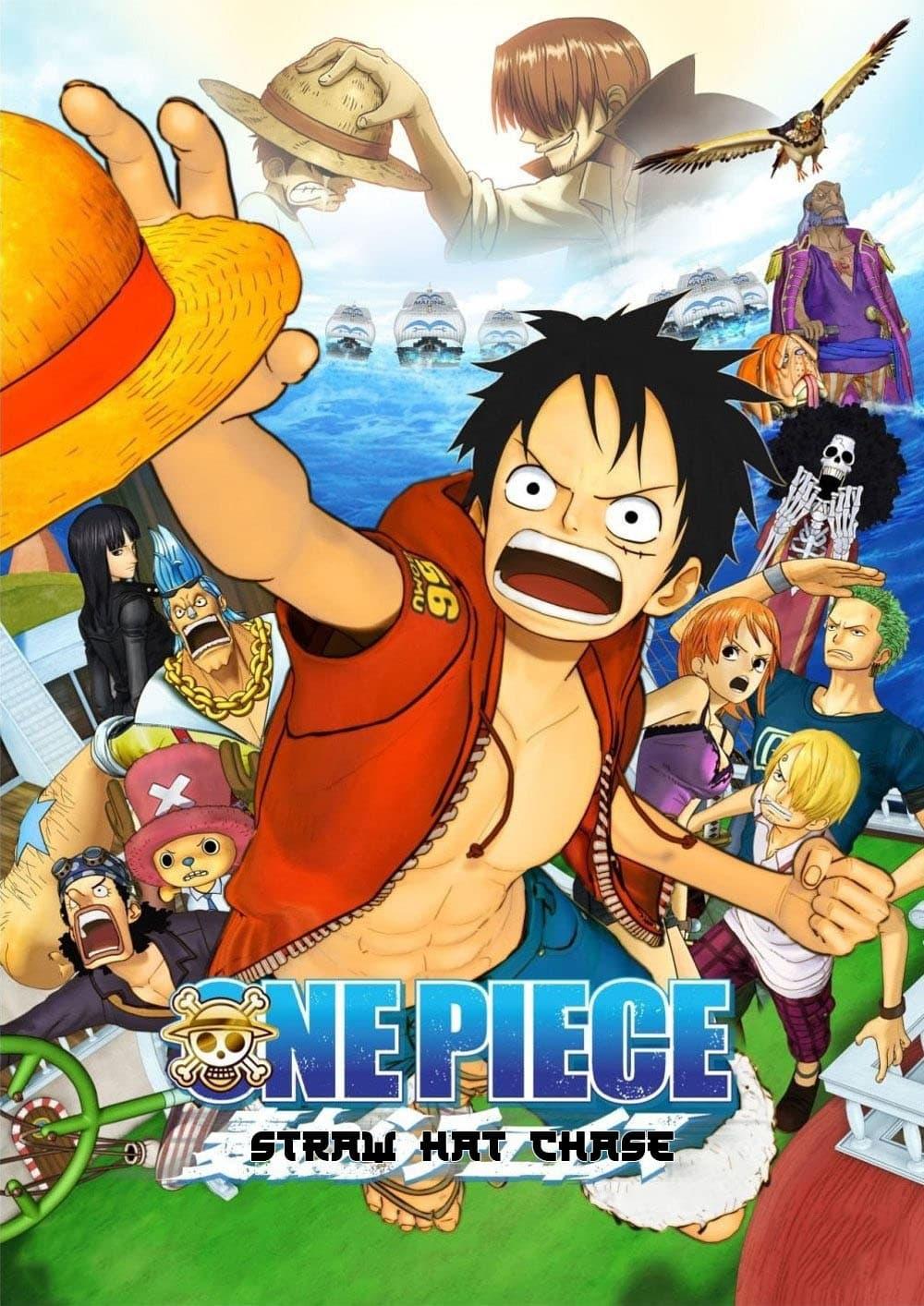 One Piece: 3D Strohhutjagd