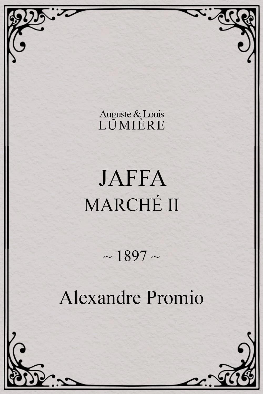 Jaffa : Marché, II