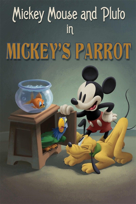 Le Perroquet de Mickey