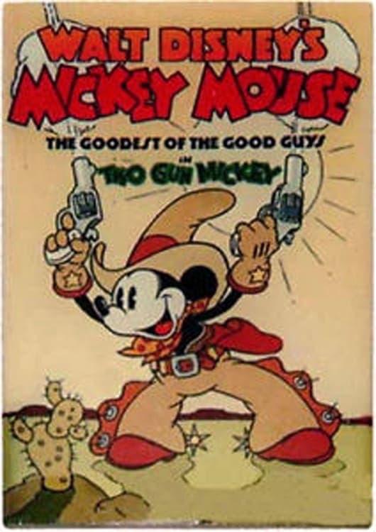 Mickey Mouse: Mickey con dos pistolas