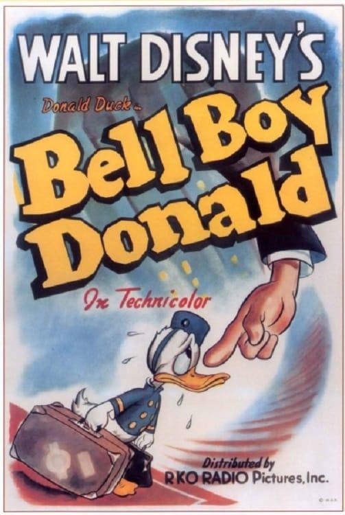 El Pato Donald: Donald el botones