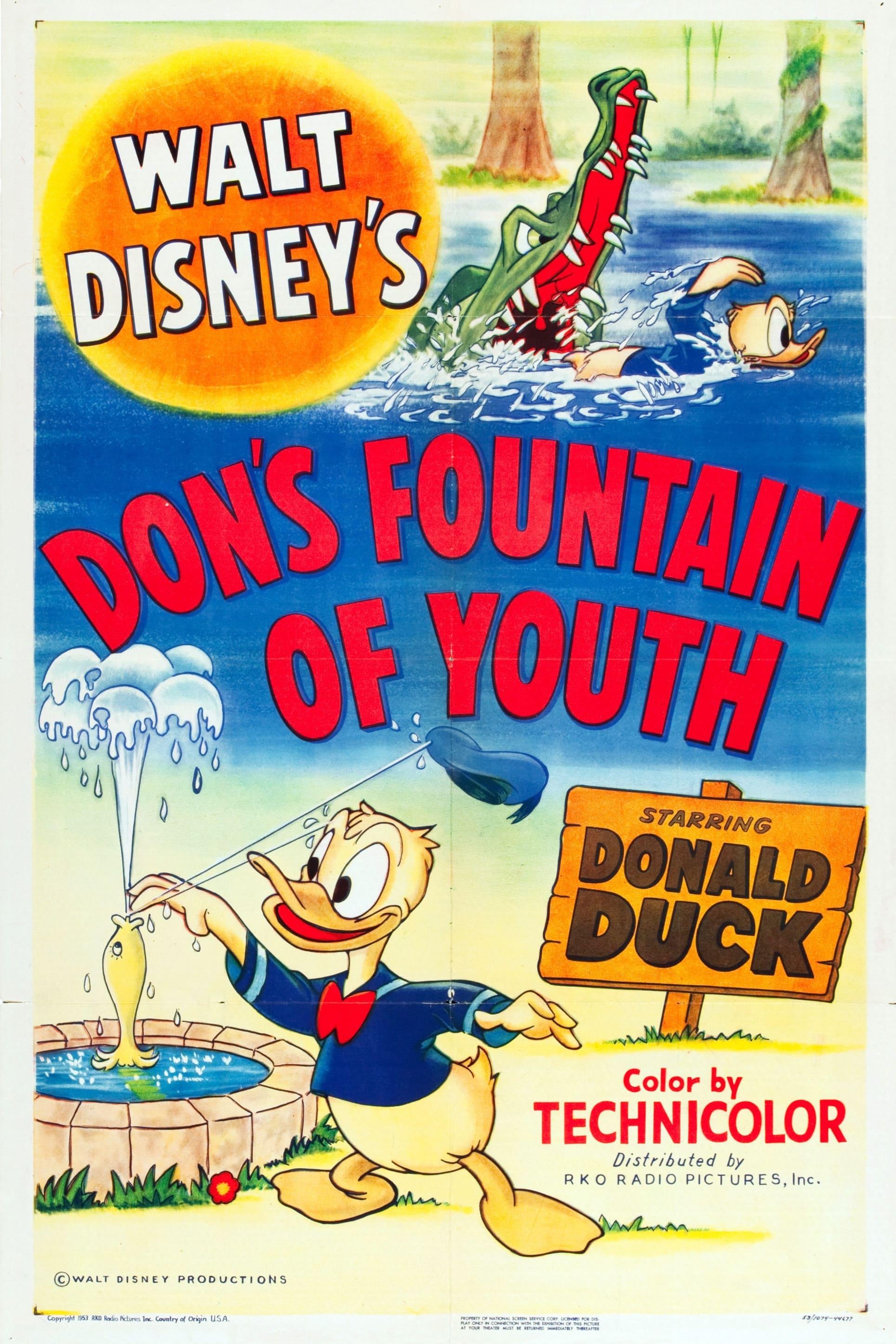 La Fontaine de Jouvence de Donald