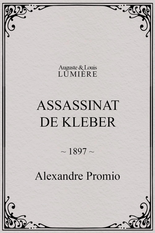 Assassinat de Kleber