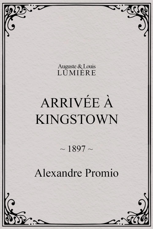 Arrivée à Kingstown