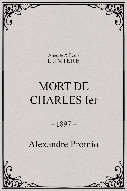Mort de Charles Ier