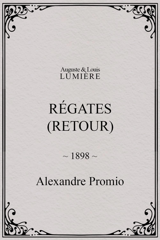 Régates (retour)