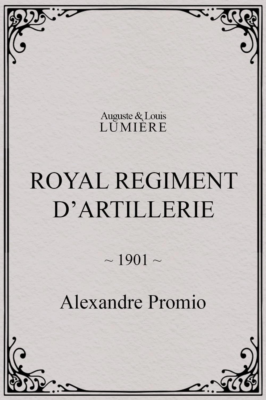 Royal regiment d'artillerie