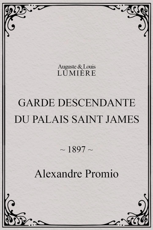 Garde descendante du Palais Saint James