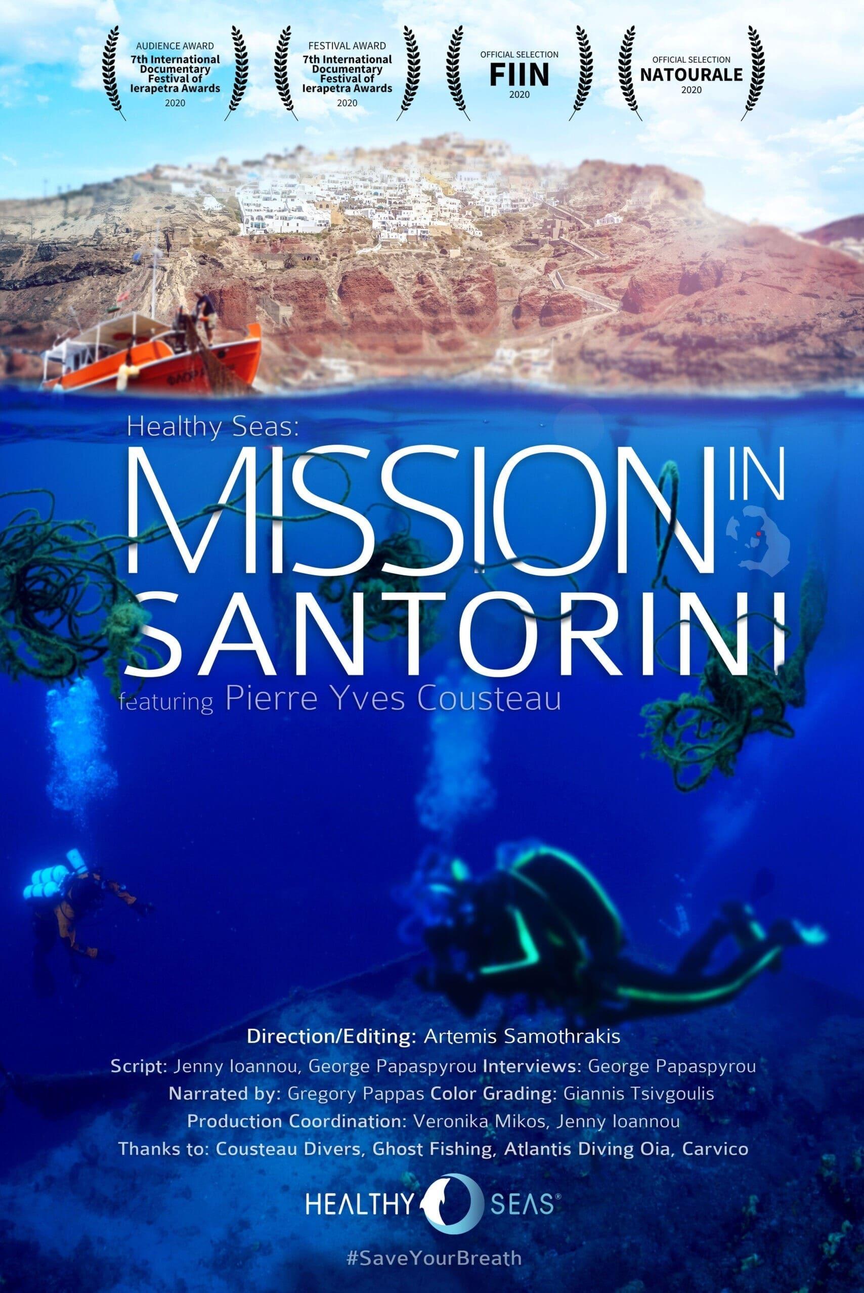 Health Seas: Mission to Santorini
