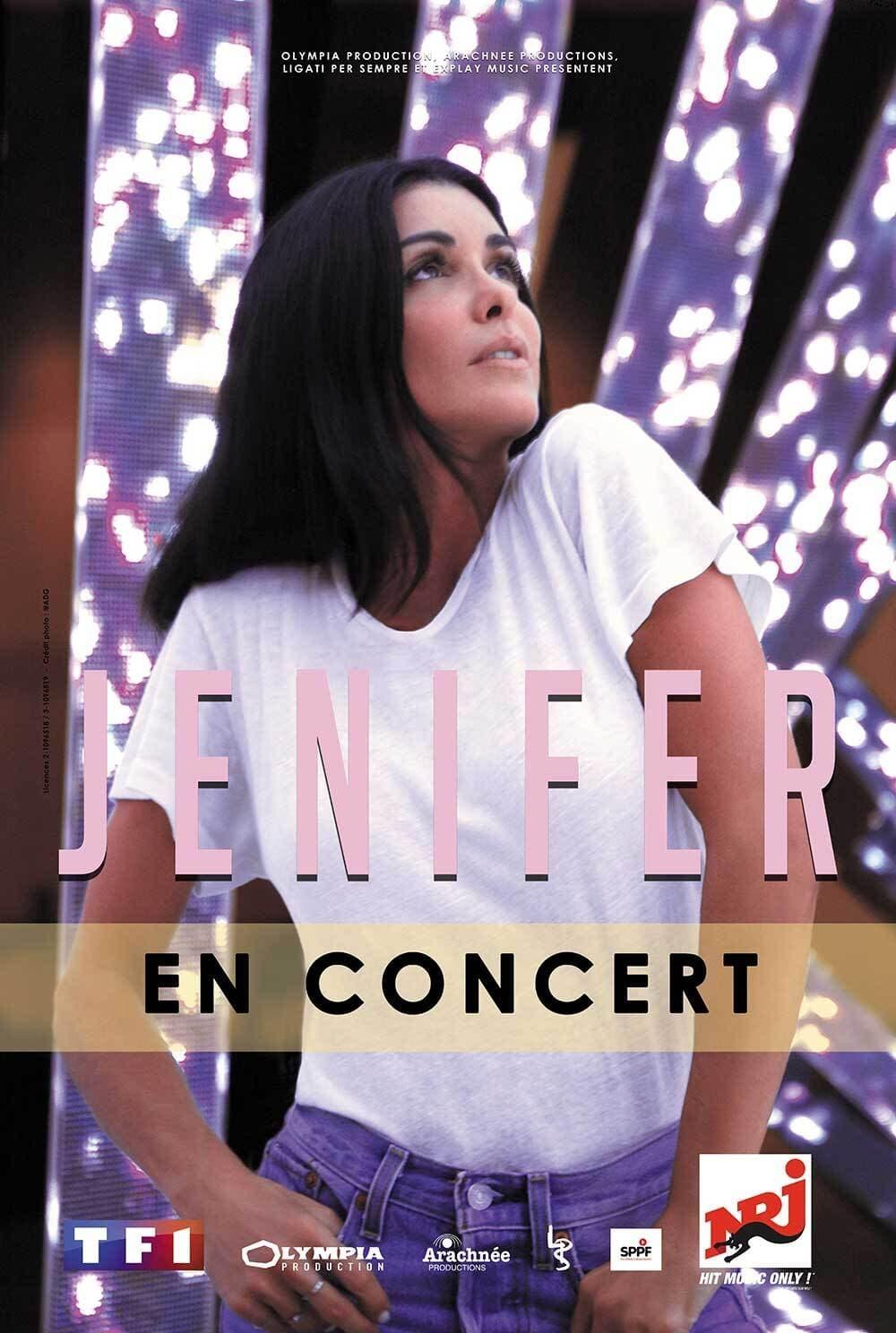 Jenifer à l'Olympia