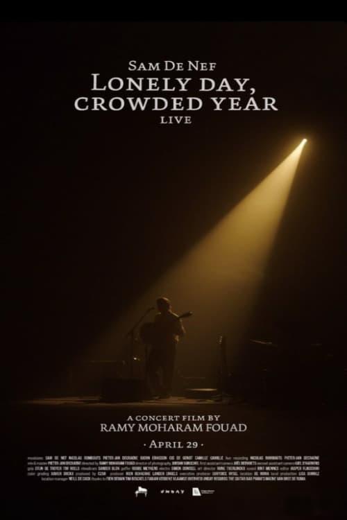 Sam de Nef- Lonely Day, Crowded Year